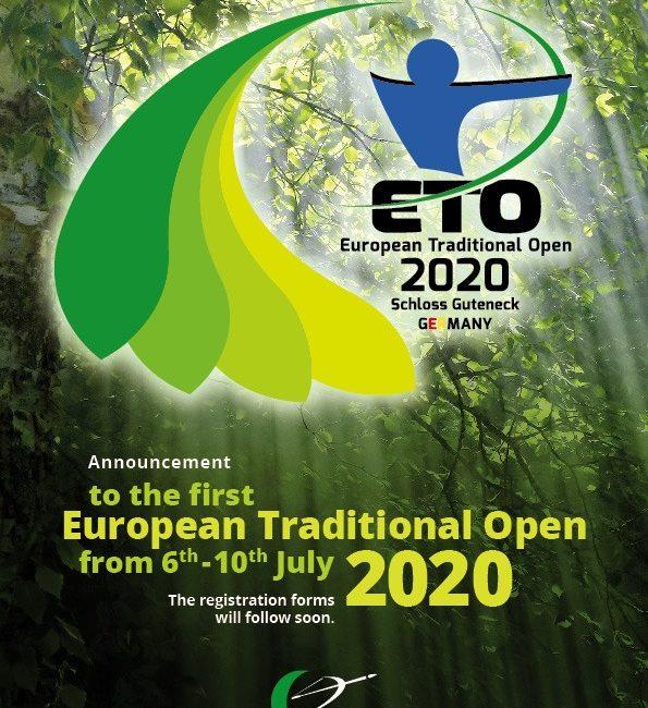 Διεξαγωγή του 1ου Διεθνούς Ανοικτού Αγώνα Παραδοσιακής Τοξοβολίας απο τον οργανισμό Τ.Α.Ι., στο Schloss Guteneck της Γερμανίας, 6-10 Ιουλίου 2020
