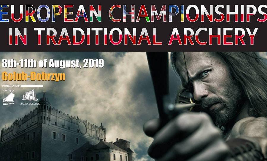 """Συμμετοχή στον Πανευρωπαϊκό Διαγωνισμό Παραδοσιακής Τοξοβολίας,""""Golub Dobrzyn 2019″, Πολωνία, 8-11 Αυγούστου 2019"""