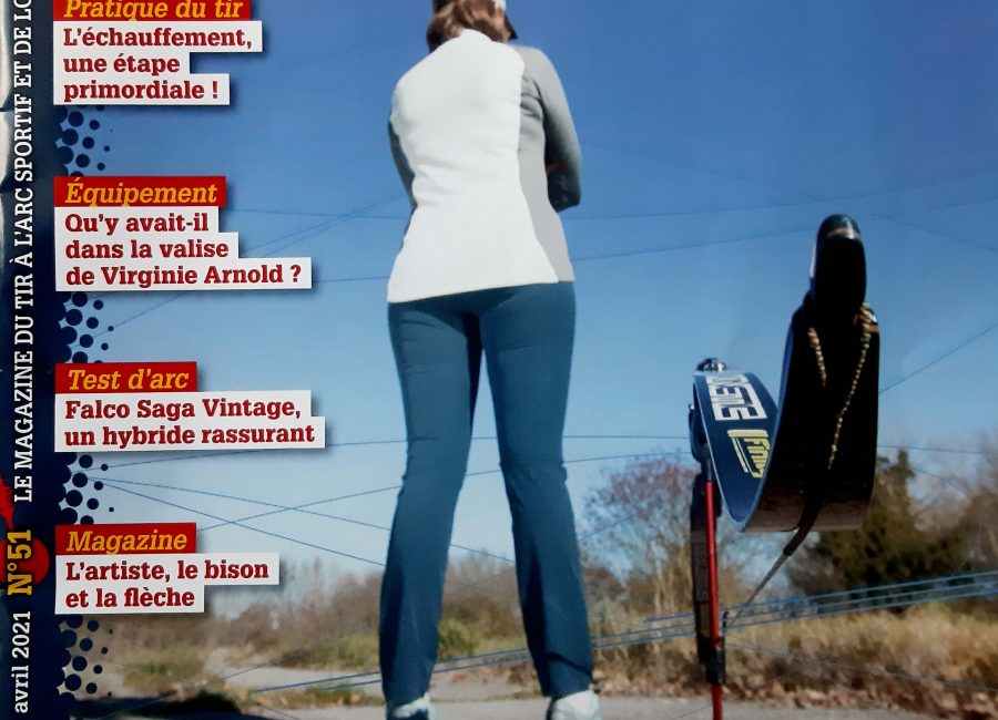 Δημοσίευση Άρθρου στο Γαλλικό περιοδικό Τοξοβολίας TIR A L'ARC / Mάρτιος 2021